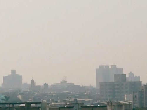 资料图:雾霾天。台湾《联合报》/记者翁祯霞 摄