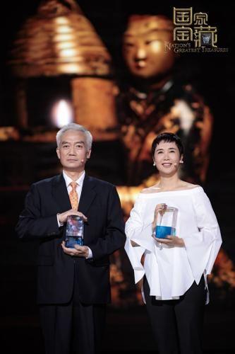 """中国文物交流中心外展专家杨阳讲述了""""长信宫灯""""走出国门的今生故事。"""