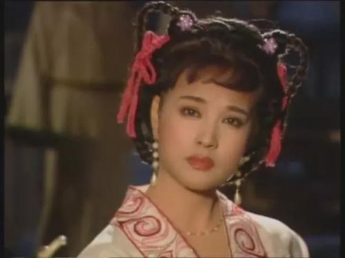 刘晓庆出演《武则天》。视频截图