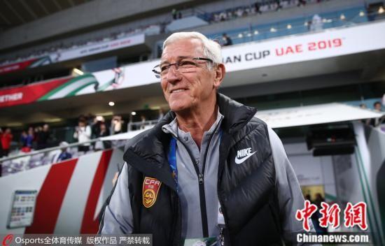 一场胜利,是国足给里皮的最好慰藉。 图片来源:Osports全体育图片社