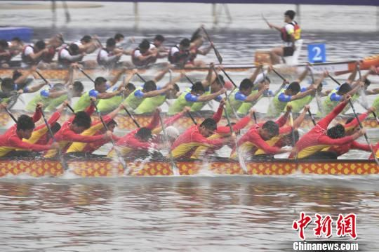 2019中华龙舟大赛(海南·万宁站)开赛 46队伍参赛_ca4ga5发动机质量