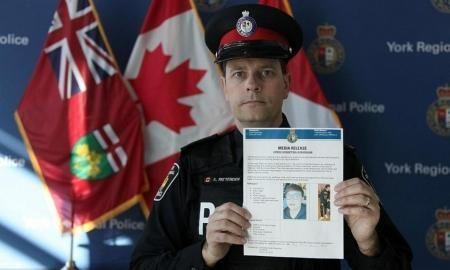 加拿大警方公布的被绑架留学生信息。
