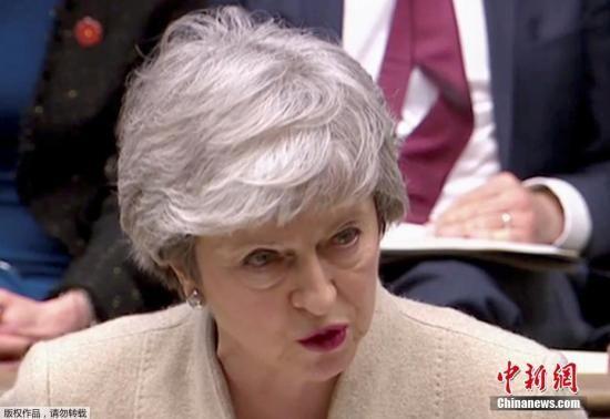 当地时间3月29日,英国议会表决脱欧协议,以344票反对、286票支持,第三次否决首相特蕾莎・梅的脱欧协议。