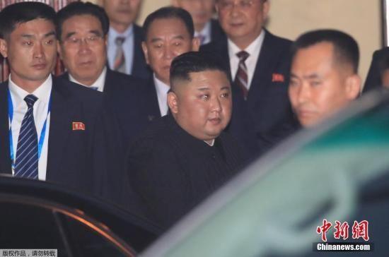 资料图:朝鲜最高领导人金正恩。
