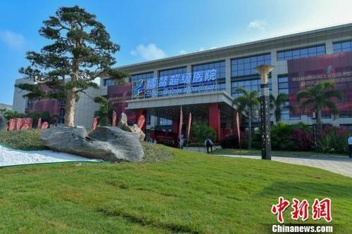 资料图:博鳌乐城国际医疗旅游先行区。 骆云飞 摄