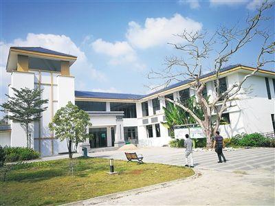 新建落成的白沙中医药康养中心即将投入使用。
