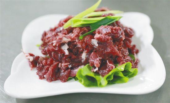 定安仙沟牛肉。