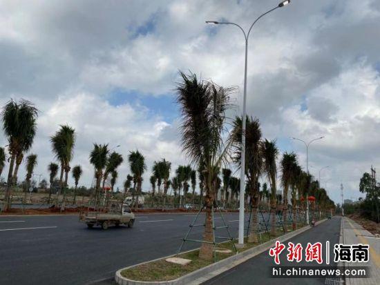 海口龙昆南延长线改造主线完工通