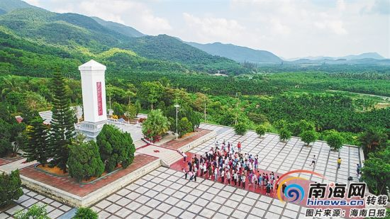 六连岭革命根据地。海南日报记者 袁琛 摄