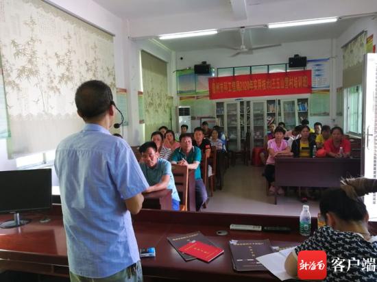南海网|榴莲蜜种植项目落地 儋州山营村产业优化转型启动