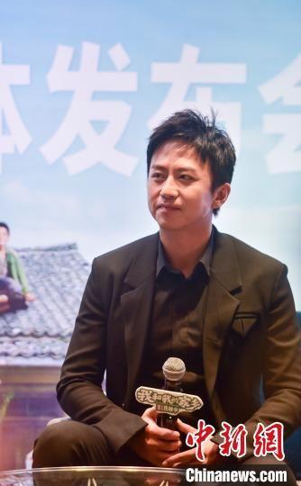 电影《我和我的家乡》发布会在广州举行 芷若 摄