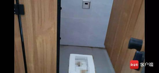 琼中服务区内厕所