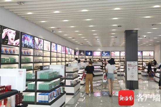 图为三亚机场免税店。海航基础供图