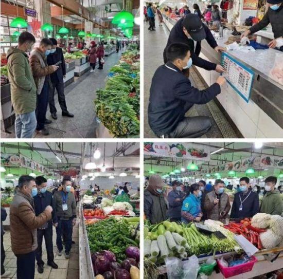 强化菜篮子保供稳价工作。龙华区委宣传部供图