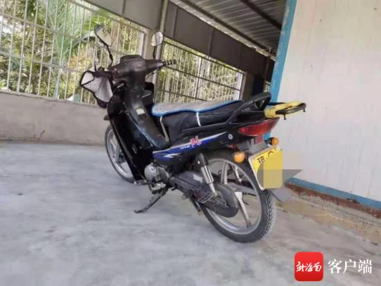 涉案摩托车。