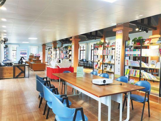澄迈大丰镇才存村咖啡书屋。 高懿 摄