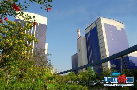 金海浆纸是金光集团APP(中国)投资建设的特大型制浆造纸企业,图为现代化的工业厂房。 金海浆纸供图