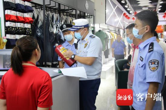 保亭多部门开展消防安全专项检查。