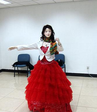 组图中国的美女主持