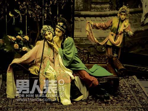 中国式性感写真学校之游园惊梦大片防会议记录流行性感冒图片