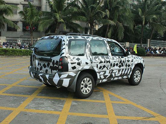 来源:海南在线汽车频道)-海马正在试制一款越野车高清图片