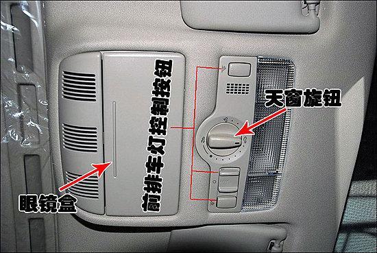 盘左部的控制杆负责控制大灯远近光以及转向灯的开关