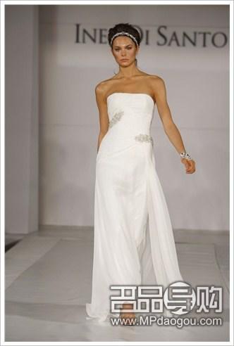 长裙婚纱设计铅笔画