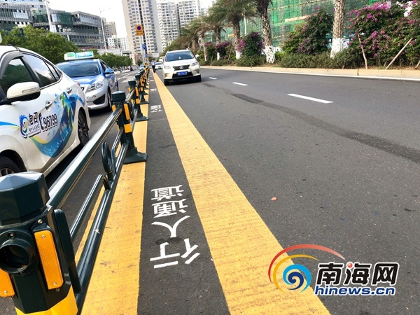 海口公安交警调整火车东站路段6路口交通组织(图)