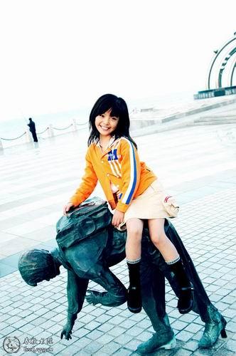中国7岁美女模特[郭柏鹭]