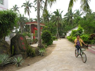 文昌有厚重的人文底蕴,七公里外的东郊椰林有独特的自然景观.