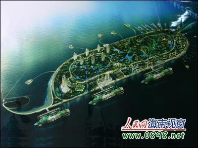 总投资逾30亿元 三亚凤凰岛将建成七星级大酒店