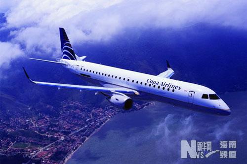 新型喷气式飞机26日将在海口进行飞行表演