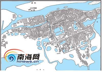 """渐行渐远的城市河流   """"在上个世纪60年代,从海甸岛到福安村,白沙"""