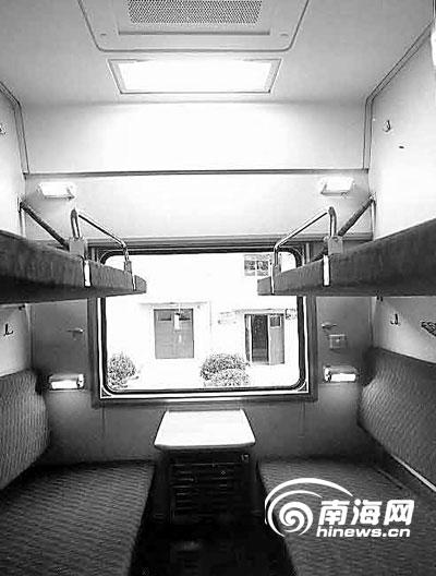 25G新型列车软卧车厢-国内最先进客车 三亚进京列车媲美进藏列车
