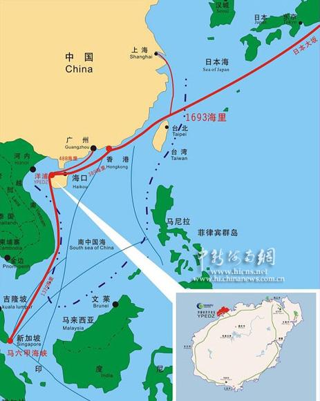 湛江东海岛地形图