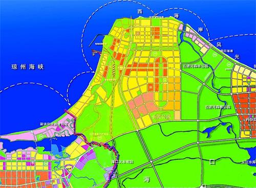 """,""""中共海口市西海岸开发建设工作委员会""""和""""海口市西海岸开发"""