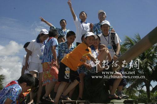 89名失亲攻略参观儿童娘子军纪念园寻仙手游黄红色的四爷宝藏图片