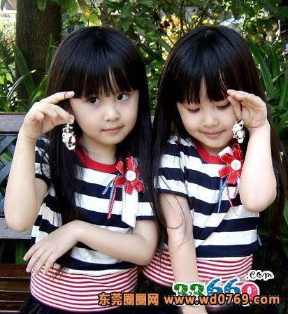 台湾最美双胞胎长大了(4)