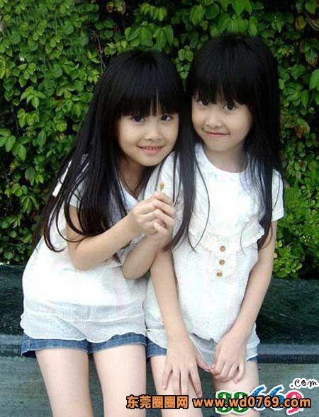 台湾最美双胞胎长大了(5)