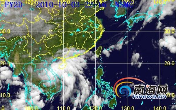 省气象台发布强风警报 海南局部有特大暴雨