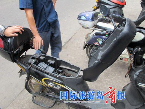 至于一些电动车维修店回收旧电池作何用途