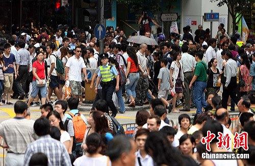 香港的面积和人口_2010年香港人口