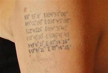 好莱坞女星的个性纹身(2)