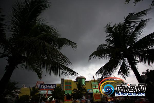 海南发布台风四级预警 琼州海峡4日下午停航