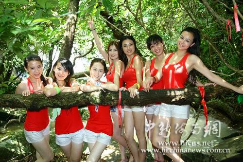 中国扬州美女大赛取自自古扬州出美女