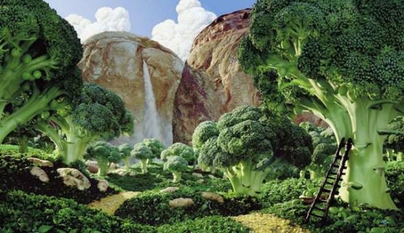 絕美蔬菜水果風景畫(4)