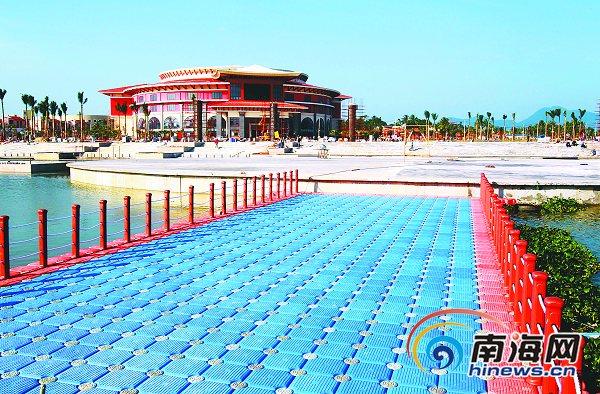 海南岛欢乐节主会场通过竣工验收 20日前使用
