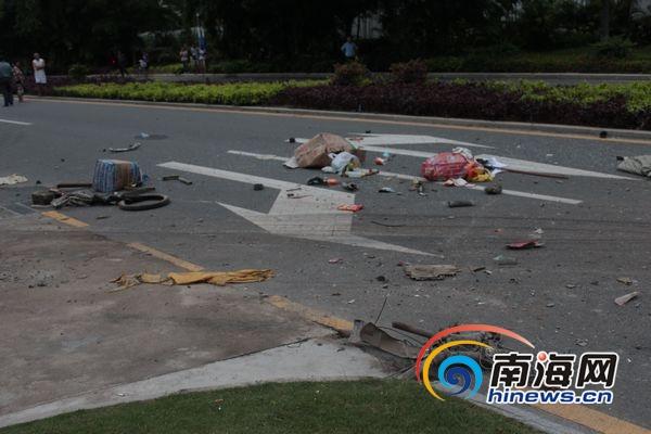 三亚亚太国际会议中心发生车祸 3人死亡2人重