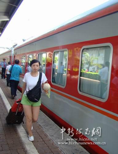 海口至长沙,西安快客列车开通