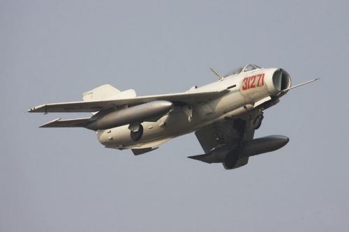 """歼-6飞机和苏联的米格-19一样,也""""飞""""到了许多国家,扬威国外."""
